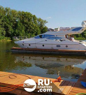 «sunseeker 43» Аренда яхты в Москве