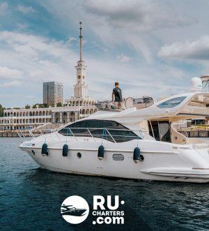 «azimut 43» Аренда яхты в Москве